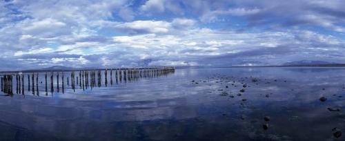 Photo panoramique de paysage réalisée au Chili à Puerto Natales. | Philippe DUREUIL Photographie