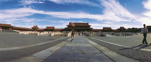 Photo panoramique de La Cité Interdite à Pékin, Chine | Philippe DUREUIL Photographie