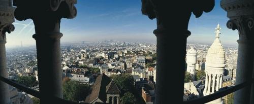 Montmartre Basilique du Sacre Cœur - Photo panoramique de Paris | Philippe DUREUIL Photographie