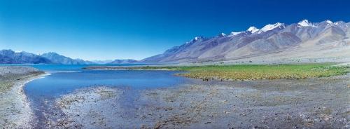 Photographie panoramique de paysage réalisée au Ladakh en Inde | Philippe DUREUIL Photographie