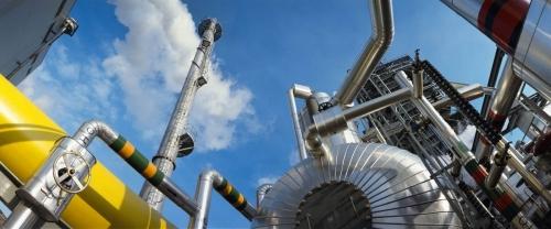 Centrale de production d'électricité photographiée en format panoramique | Philippe DUREUIL Photographie