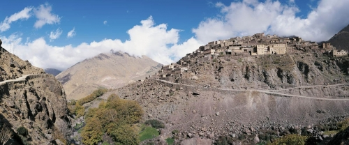 Paysage panoramique - Maroc | Philippe DUREUIL Photographie