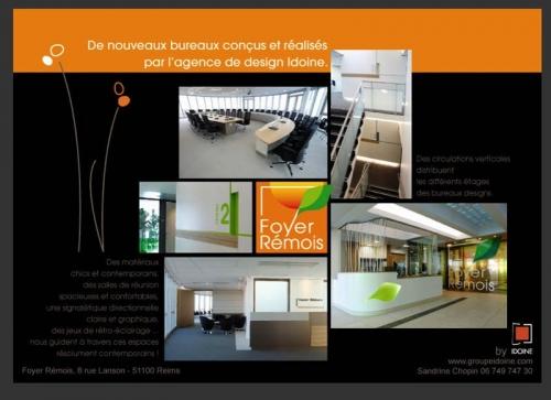 Photographies d'architecture intérieur illustrant une newsletter de l'agence de design IDOINE | Philippe DUREUIL Photographie