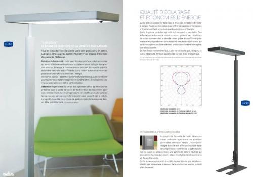 Plaquette produits - Annonceur : Radian Éclairage | Philippe DUREUIL Photographie
