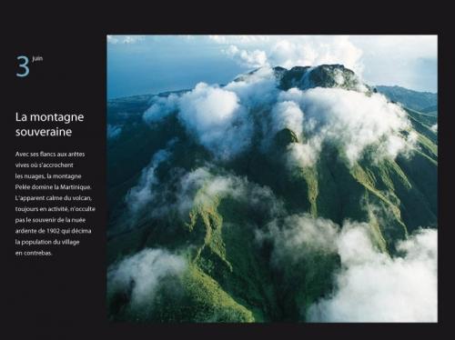 Photo aérienne de paysage parue dans le calendrier GEO 365 jours au bout du monde - Éditeur : Play Bac - Diffusion : Hatier - Photographie aérienne de paysages : Philippe Dureuil | Philippe DUREUIL Photographie