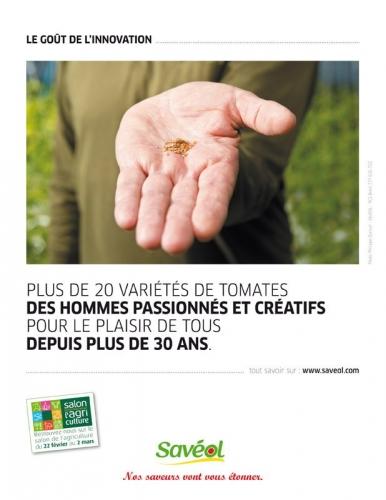 Agence : PAR AILLEURS - DA : Fabienne Couderc - Rédactrice : Pascale Pessin - Photo réalisée pour illustrer la campagne presse publicitaire du maraîcher Savéol | Philippe DUREUIL Photographie
