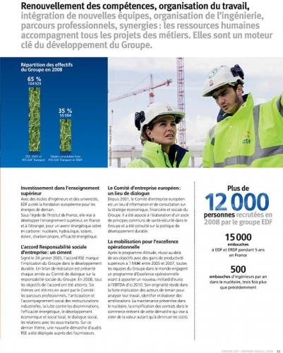 Photo illustrant un rapport annuel du groupe EDF | Philippe DUREUIL Photographie