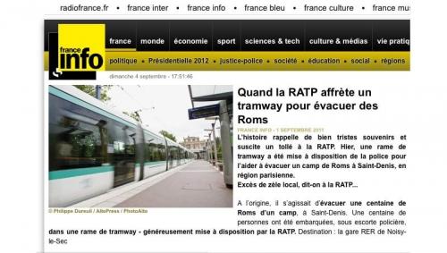 Photo illustrant un article le site Internet de France Info | Philippe DUREUIL Photographie