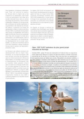 Photo panoramique industrielle illustrant un rapport annuel GDF SUEZ | Philippe DUREUIL Photographie