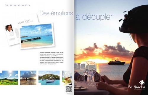 Agence : Horizon Bleu - Annonceur : Office du Tourisme de l'île de Saint-Martin - DC : Jérôme Dumas - Photographe publicitaire lifestyle : Philippe Dureuil | Philippe DUREUIL Photographie