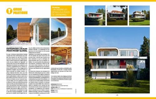 Magazine Architectures à Vivre - Agence MESOSTUDIO Stéphane Berthier & Xavier Bonnaud Architectes - Photos d'architecture : Philippe Dureuil | Philippe DUREUIL Photographie