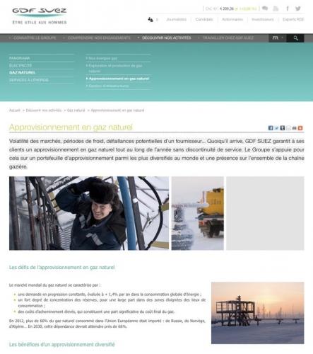 Photographies industrielles et portrait corporate réalisées pour GDFSUEZ en Sibérie - Ces photos illustrent le site web GDFSUEZ | Philippe DUREUIL Photographie