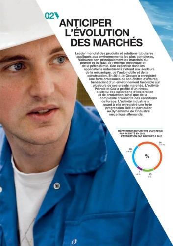 Portrait corporate illustrant un rapport annuel de Vallourec | Philippe DUREUIL Photographie