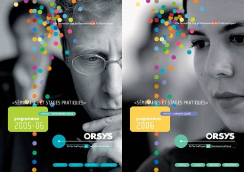 Catalogue formation - Annonceur : ORSYS Formation - DA : Claire Mabille | Philippe DUREUIL Photographie