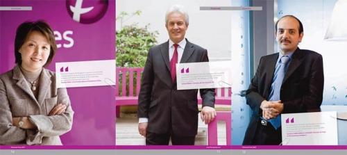Portraits corporate - Rapport annuel - Annonceur : Fives - Agence : TBWA | Philippe DUREUIL Photographie