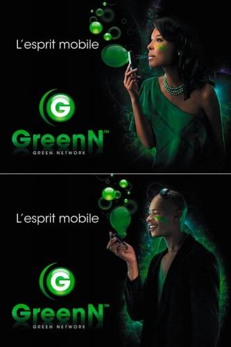 Photos de portraits réalisées en studio pour une campagne publicitaire 4 x 3 - Annonceur : Green Télécom Côte d'Ivoire - Directeur de création : Sharky Design - Photographe publicitaire : Philippe Dureuil | Philippe DUREUIL Photographie