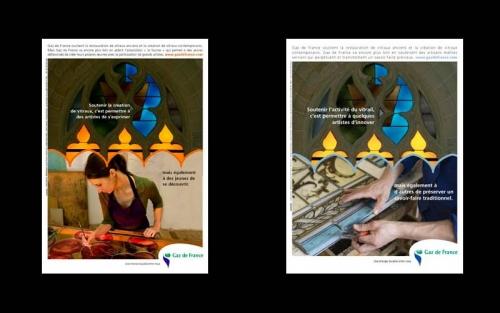 Annonces Presse publicitaires - Annonceur : Fondation Gaz de France - Agence : Australie | Philippe DUREUIL Photographie