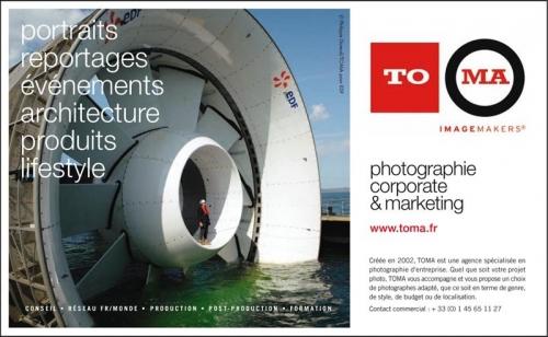Photographie industrielle réalisée pour illustrer une annonce presse publicitaire de l'agence TOMA parue dans le journal Stratégie | Philippe DUREUIL Photographie