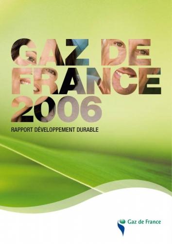 Rapport développement durable Gaz de France | Philippe DUREUIL Photographie