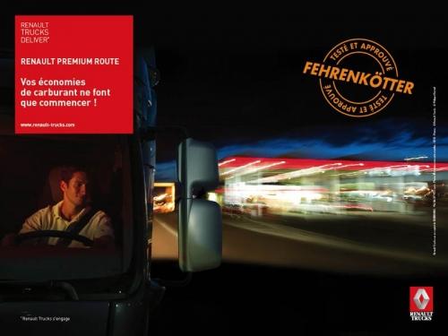 Photo de fond pour illustrer un poster - Annonceur : Renault Trucks - Agence : àSUIVRE - DA : Christian Montalon | Philippe DUREUIL Photographie