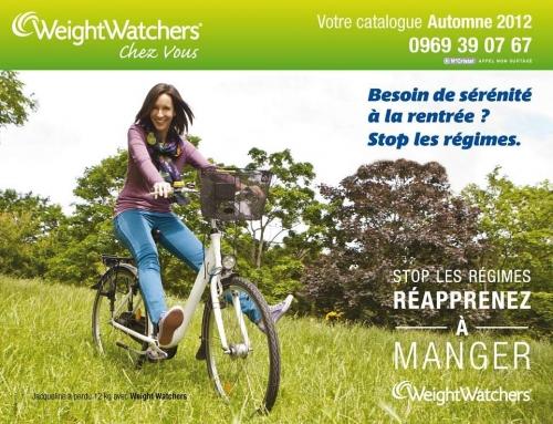 Photo illustrant une affiche publicitaire WeightWatchers® | Philippe DUREUIL Photographie
