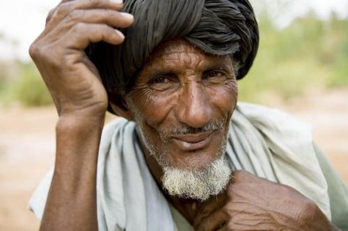 Portrait d'une homme Mauritanien | Philippe DUREUIL Photographie