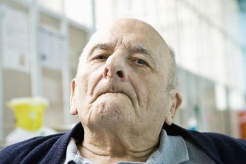 Portrait d'un vieillard en EHPAD | Philippe DUREUIL Photographie