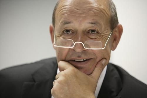 Portrait de M. Jean-Yves Le Drian - Ministre de la défense | Philippe DUREUIL Photographie
