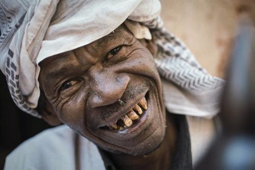 Portrait d'un nomade en Algérie | Philippe DUREUIL Photographie