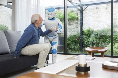 Photographie lifestyle réalisée pour l'agence Toma. Annonceur : SoftBank Robotics. DA : Aurélien Esquivet. | Philippe DUREUIL Photographie